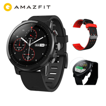 Free Strap Film Global Huami Amazfit Stratos Smart Watch Pace 2 GPS Watch 5ATM Waterproof 512MB/4GB Smartwatch for Android iOS [english version]xiaomi huami amazfit pace sports smart watch bluetooth 4 0 wifi dual core 1 2ghz 512mb 4gb gps heart rate watch