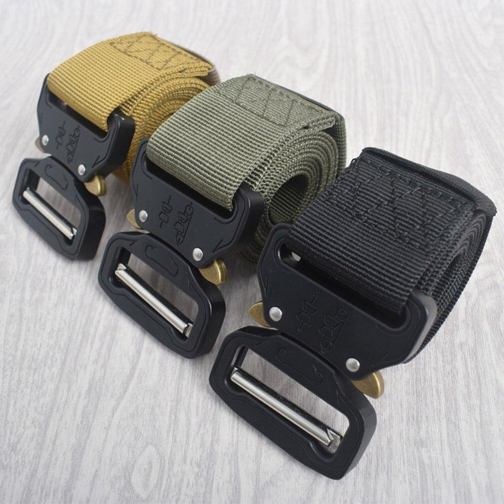 Cobra Tactical Belt Nylon Belt Security Multi-Function Belt Armed Belt Set Nylon Tactical Belt Double-Repair Belt