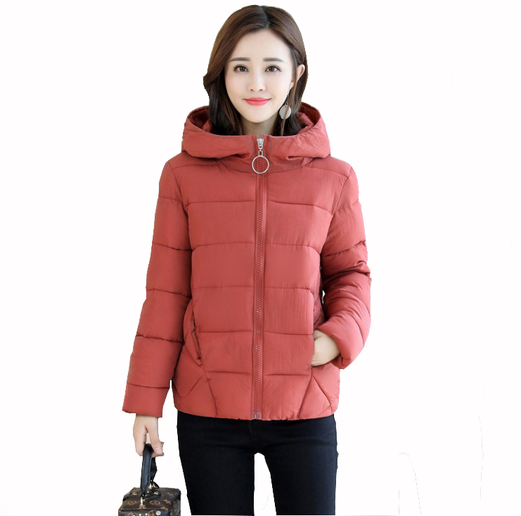 2019 New Winter Short Jacket Women  Coat Padded Cotton Jacket Outwear Plus Size 5XL High Quality Warm Parka Women's Clothing
