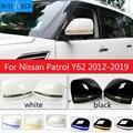 Für Nissan Patrol Y62 2012-2019 rückspiegel blinker Patrol geändert rückspiegel gehäuse LED blinker änderung