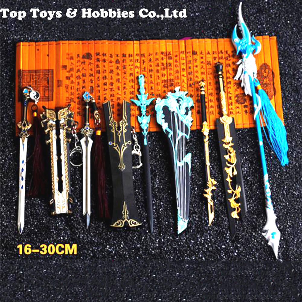 ABS Sword Net 3 1/6 Scale Ancient Weapon Gang Sword Model Prue-yang Exclusive Weapon With Stand Collection For 12 Inches  Figure