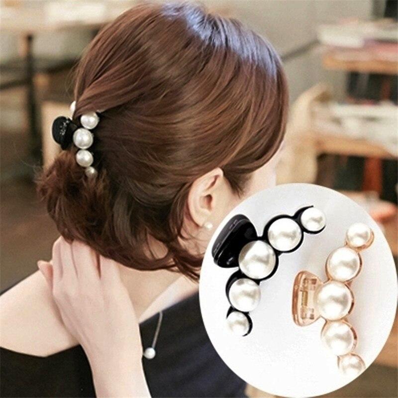 Haar accessoires Hairpins Hair Ornaments Hair Clip Shiny Rhinestone Crab Hair Claws Cheveux For Women Girl Accessories   Headwear