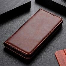 Coque de téléphone pour Samsung Galaxy Note 20 Ultra housse de protection en cuir de vachette