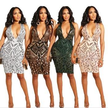 Sexy Sequin Mini Dresses