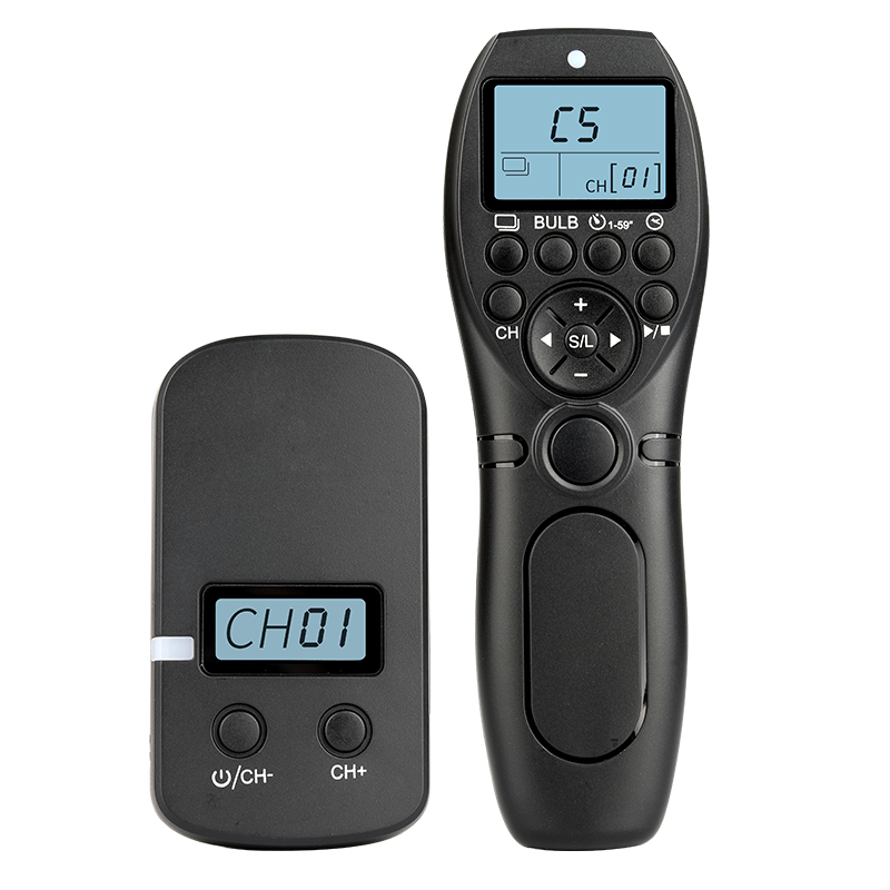 <font><b>Timer</b></font> <font><b>Shutter</b></font> Release <font><b>Remote</b></font> Wireless Timing Control For Canon <font><b>Nikon</b></font> Sony Accessories 5D4 5D3 6D2 EOS R Z7 D850 D810 D750 A7r3 image