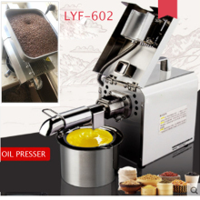 купить Oil Pressers Stainless steel automatic oil press make LYF-602 Household walnut peanut oil presser 110V/220v дешево