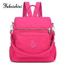 New Womens nylon Backpack ladys Travel Backpacks Sac A Dos school backpacks for teens Girls Preppy mochila mujer shoulde bag