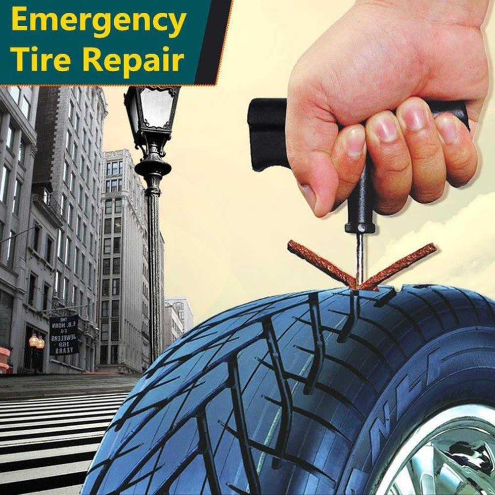 5 個車のタイヤ修理ストリップ自動車オートバイチューブレスタイヤタイヤホイール穿刺プラグシールテープ修理腱ゴムストリップ