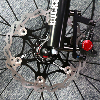 SNAIL Mountain bike brake Rotor Strong heat dissipation Floating Rotors Ultralight MTB Bike Disc Brake Pad 160MM 180MM 203MM 160mm 180mm 203mm disc brake rotor for snail mountain bike mtb float floating cycling bicycle aluminum rotors disc brake rotor