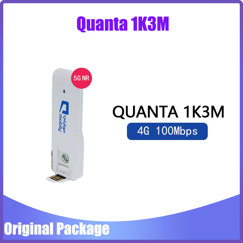 Unlocked Mobily 1K3M 4G LTE Cat 3 100Mbps USB Dongle 4G Mobile Broadband Support TDD 2300/2600