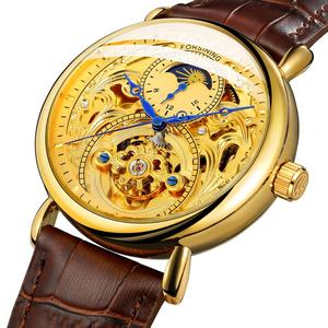 Image 5 - 2020 ใหม่นาฬิกาแฟชั่นหรูหรากลวงยุโรปและอเมริกาผู้ชายแกะสลักกลวงอัตโนมัตินาฬิกาผู้ชายนาฬิกา
