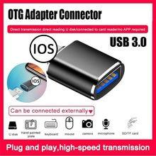 Famale usb para relâmpago câmera adaptador conversor de dados cartão sd u disco curto otg para iphone 11 pro xs max xr x 6s 7 8 plus