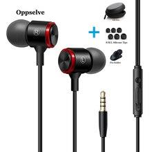 Bas ses kulaklık kulak içi spor mikrofonlu kulaklık için xiaomi iPhone Samsung Huawei telefonları kulaklık fone de ouvido auriculares