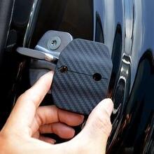 Стильные автомобильные фотообои из углеродного волокна 4 шт