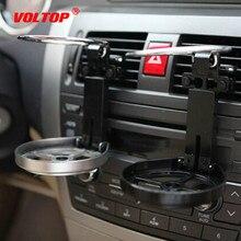 Pervane katlanabilir bardak tutucu ayarlanabilir içecek tutucu araba aksesuarı içecek şişesi standı soğutma fanı ile