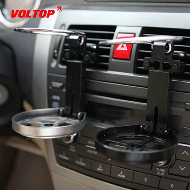Propeller Folding Cup Holder Adjustable Drinks Holder Car Accessorie Beverage Bottle Can Stand with Cooling Fan