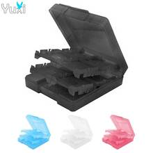 цена на YuXi 16 in 1 Protective Game card Cartridge Shell Holder Case Box For Nintendo DS / DS Lite / 3DS / 3DS XL/LL
