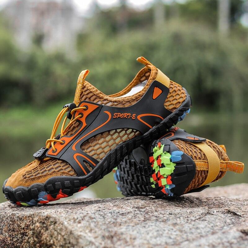 Water Shoes Outdoor Men Shoes Breathable Caravan 4 Colour 46 Men Sneakers 44 Wear Resisting Women Shoes 35 Sport Plus Size 47