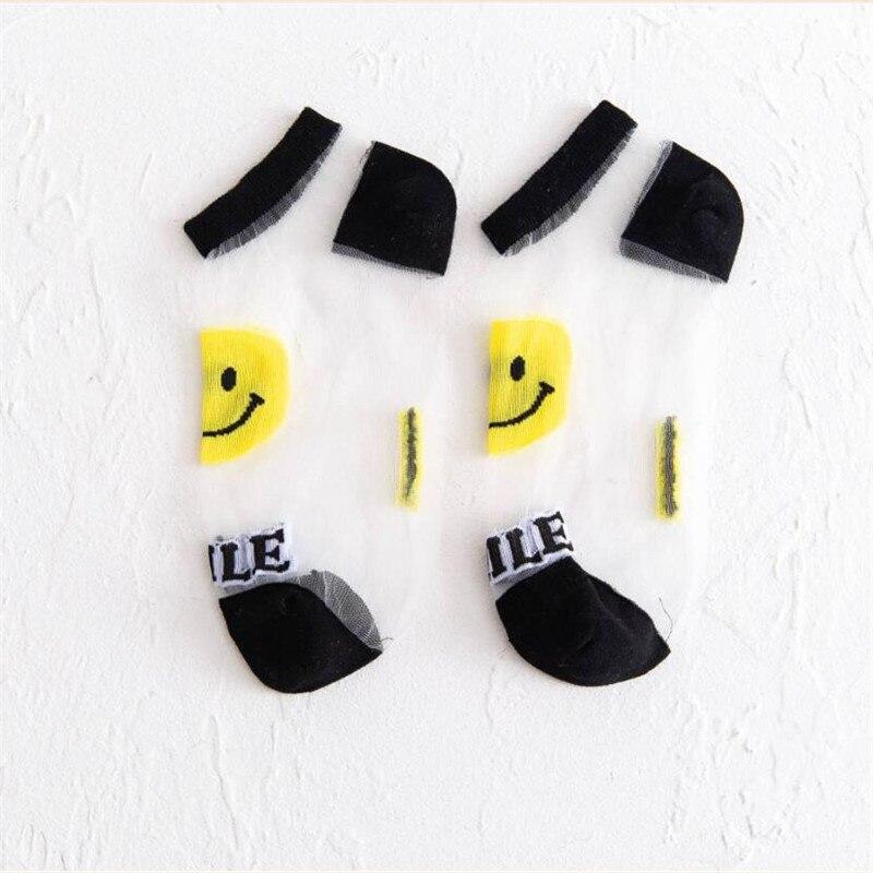 ΔFree ShipTransparent Socks Spring Girl 5-Pairs/Pack Women's Ladies Summer And Autumn High-Quality╫