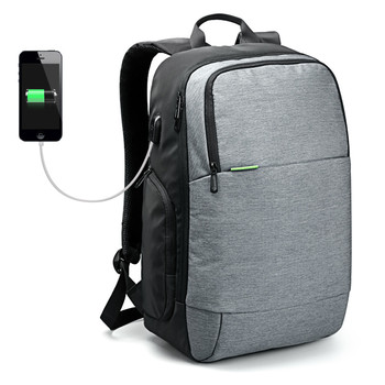 Kingsons 14 15  Inch  USB Charge Laptop Backpack,  Anti-theft Durable Casual Daypack, Business,Outdoor Rucksack for women men.