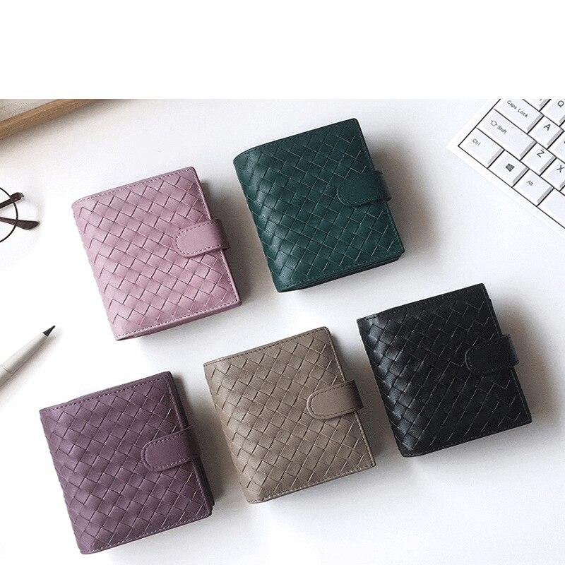 SIKU Genuine Leather Wallet Female Famous Brand Wallet Case Fashion Sheepskin Purse