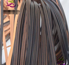 20 метров Ширина: 8 мм толщиной: 12 Пластик плетеная материал