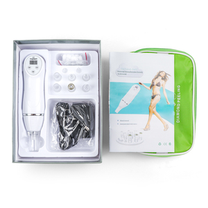 Image 1 - 6 Tips Facial Care Beauty Device Skin Diamond Dermabrasion Remove Blackheads Skin Peeling Machine Care Massage Microdermabrasion