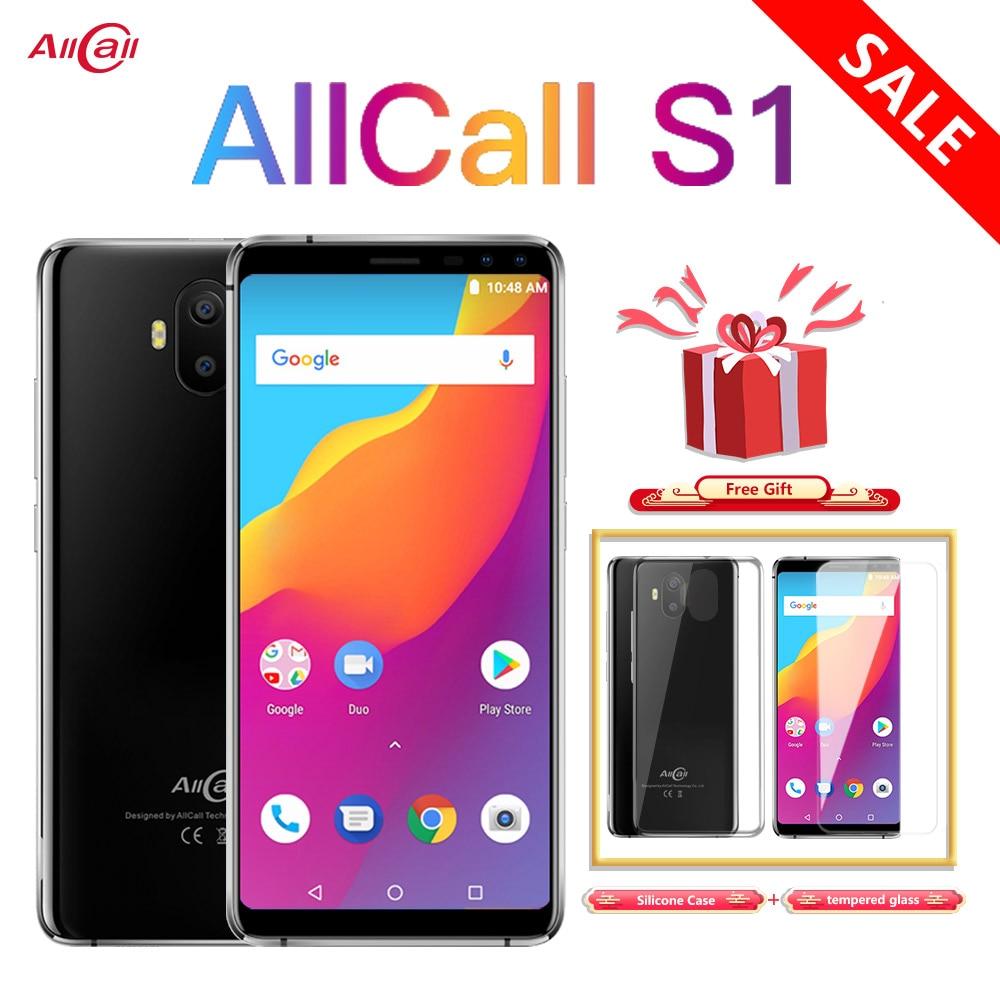 Allcall S1 5000mAh 3G Smartphone MTK6580 Quad Core 2GB 16GB Android 8.1...