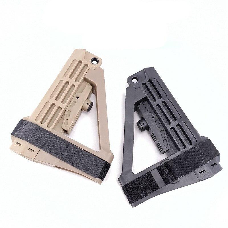 Sports de plein air CS équipement de jeu tactique en Nylon Stock amélioré Airsoft accessoires pour Jinming9 M4 HK416 raccord AR bricolage pièces