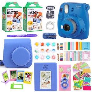 Image 3 - Fujifilm Instax Mini 9 Cámara de impresión fotográfica instantánea, 40 hojas, Mini película de papel, correa para el hombro, paquete de accesorios