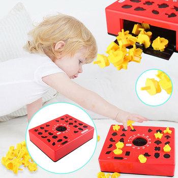 24 sztuk kształt Puzzle do układania wraz z upływem czasu wyścig dla dzieci śmieszne gry planszowe wczesna edukacja zabawki Montessori chłopcy od 1 roku do 3 lat prezenty tanie i dobre opinie mishatoys CN (pochodzenie) none Chiny certyfikat (3C) Urodzenia ~ 24 Miesięcy 2-4 lata 5-7 lat Time matching puzzle Zwierzęta i Natura