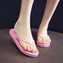 2020 New Arrival Summer women Flip Flops High Quality Beach Sandals Anti-slip Calzado de playa para mujer Casual Beach Shoes