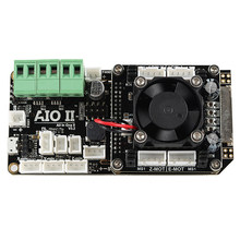 AIO II V3.2 Mainboard All in One II 32 Bit MCU 32Bit ST820 Driver 256 Microsteps Controller Board Support Marlin for 3DP/CNC(China)