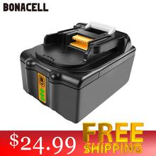 Powtree For Makita High Capacity 18V 4000mAh BL1830 Power Tools Li-lon Battery Replacemen LXT400 BL1815 BL1840 BL1850 BL1860 L50 4000mah new rechargeable lithium ion replacement power tool battery for makita 18v bl1830 bl1840 lxt400 bl1815 194230 4 194205 3