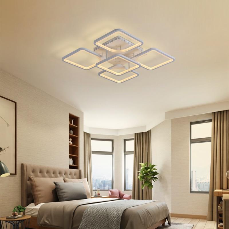 Hfbdf27527033406a8b6944775eca41e2B 2019 Modern led ceiling lights/plafond lamp lustre suspension for living/dining room kitchen bedroom  home deco light fixtures