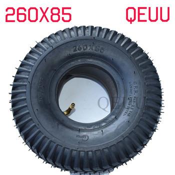Opona 260 #215 85 do opona skutera ATV i gokart opona i dętka do silnika dętka 3 00-4 (10 #8222 x 3 #8221 260*85) tanie i dobre opinie QEUU 10inch 8 5cm 260X85 0 9kg Opony Rubber Scooter tyre Tube Motor Tire