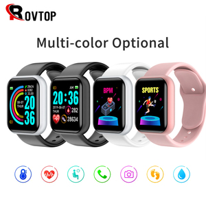 Y68 Pro D20 Smart Watch Bluetooth Blood Pressure Fitness Tracker Watches Heart Rate Monitor Smartwatch For Apple IOS Android