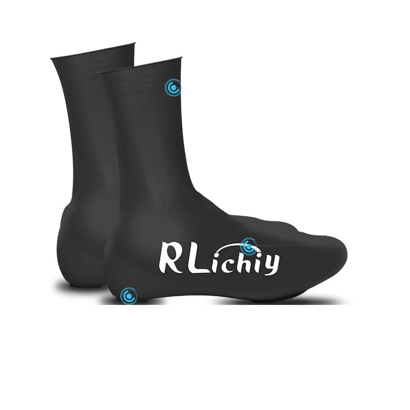 Waterproof Cycling Shoe Cover MTB Mountain Road Bike Dustproof Windproof Overshoes Protector Cycling Bicycle Lock Shoes Covers