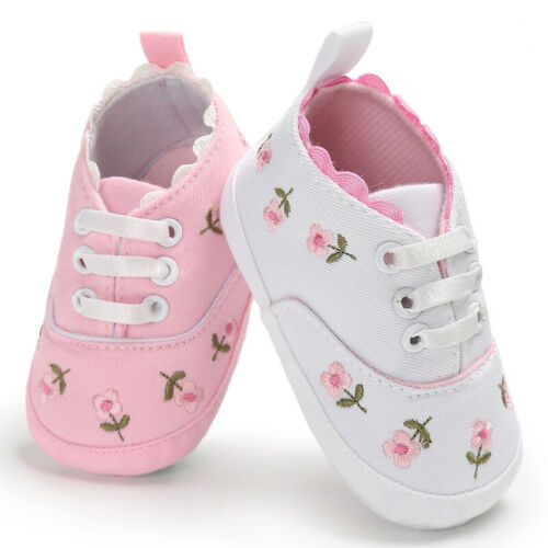 Citgeett Spring 0-18M Toddler Baby Shoes Newborn Boys Girls Soft Soled Princess Crib Shoes Prewalker 2