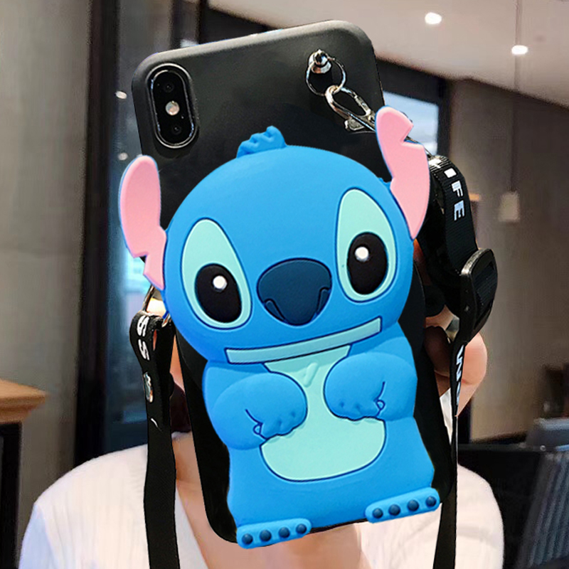 3D Cartoon Wallet Coin Bag Phone Case for Letv Leeco Le Pro 3 Coolpad Cool 1 2 Pro 2S 1S Max 2 S3 Changer S1 Cover Bag Coque(China)