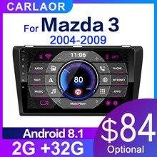 2G + 32G أندرويد 8.1 راديو السيارة لمازدا 3 2004 2013 maxx axel Wifi السيارات ستيريو مشغل أسطوانات للسيارة لتحديد المواقع والملاحة ستيريو مشغل وسائط متعددة