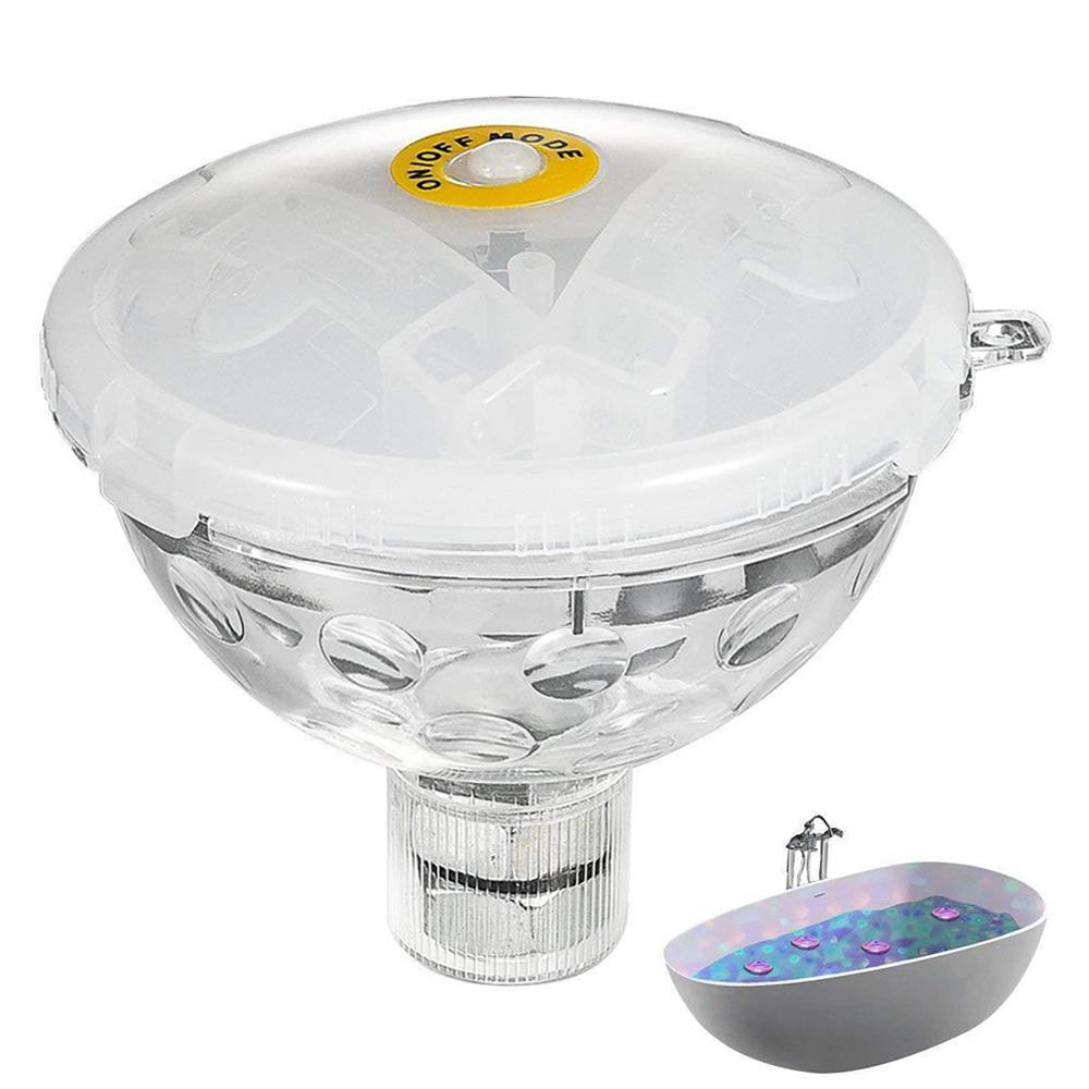 Купить с кэшбэком Pool Light RGB Floating Submersible Underwater Light Glow Show Swimming Pool Hot Tub Spa Lamp For swimming pool Accessories