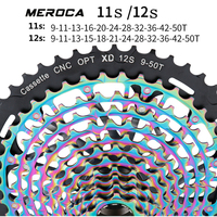 MEROCA Mountain Bike ultra Light Strand Empty CNC Integrated Flywheel 11/12 Speed XD Free hub body 9 50T Freewheel