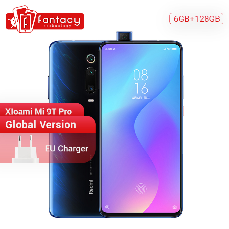 Global Version Xiaomi Mi 9T Pro 9 T (Redmi K20 Pro) 6GB 128GB Snapdragon 855 Smartphone 48MP Triple Cameras 4000mAh NFC