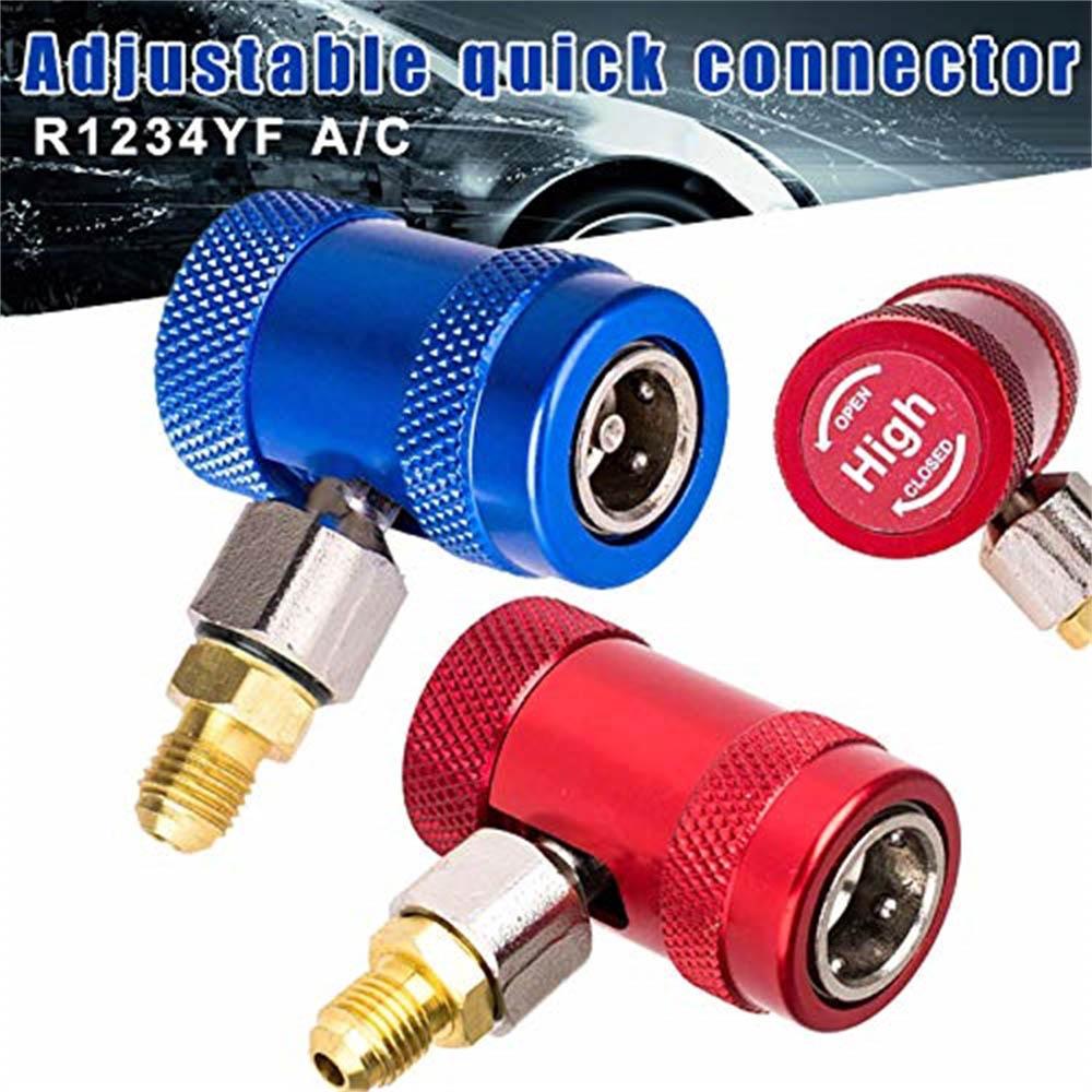 2 шт., автомобильный фторидный преобразователь кондиционера R1234yf|Установки для кондиционирования|   | АлиЭкспресс