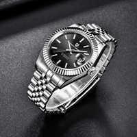Marca de diseño PAGANI 100M reloj deportivo resistente al agua calendario zafiro Rolexable relojes mecánicos automáticos para hombre reloj Masculino