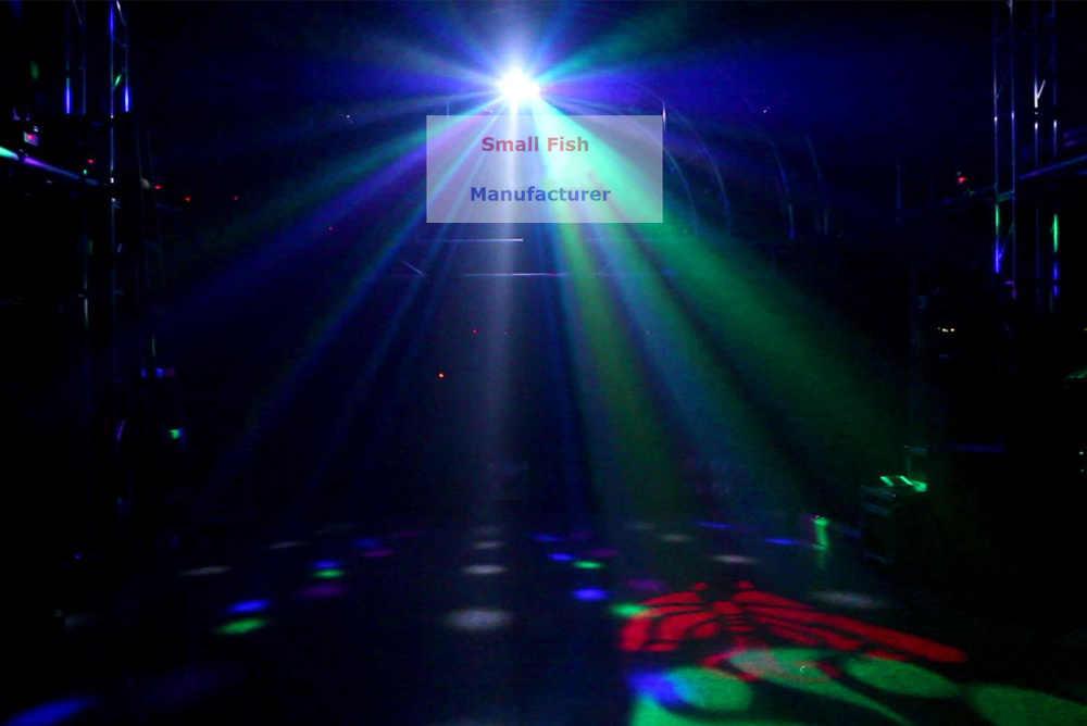 Baik Kualitas Laser LED Strobo 4in1 DMX512 Tahap Efek Lampu Yang Baik untuk DJ Disko Pesta Ulang Tahun Dekorasi Pernikahan Klub dan bar
