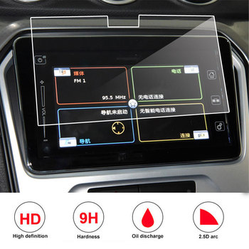Tempered glass film protector For Suzuki Vitara 4th 2015 2016 2017 2018 car radio gps Auto Screen Sticker Car Accessories image