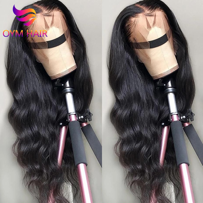 HD Lace Front Human Hair Wigs 13X4 Pre Plucked Remy Brazilian Body Wave Transparent Lace Front Wigs With Baby Hair For Women 150