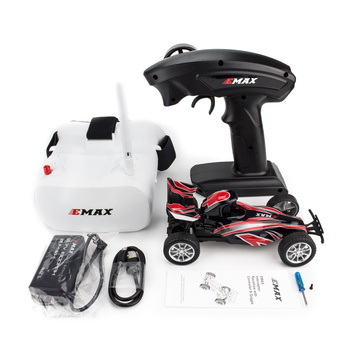 New style EMAX Interceptor Remote Control FPV RC Car with Glasses Full Proportional Control RTR Model
